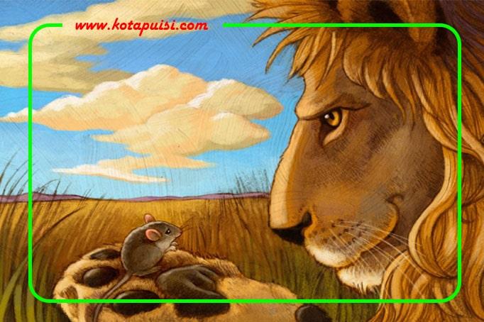 Dongeng Anak - Singa dan Tikus